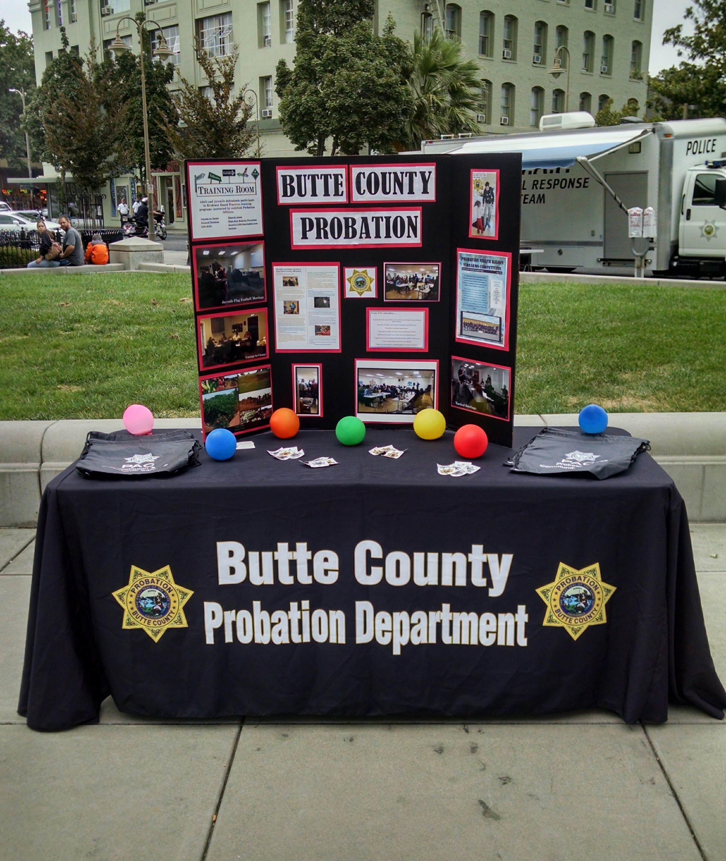 Probation Department Display Table