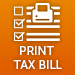 View and Print Tax Bill