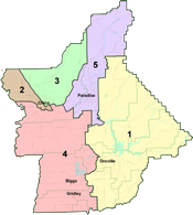 Board Of Supervisors Home - Butte county map